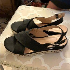 A new day platform sandals